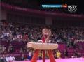 奥运视频-内村航平下马失误 体操男子团体决赛