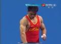 奥运视频-张杰抓举140kg开门红 举重男子62kg级