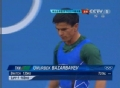 奥运视频-巴扎巴耶举162kg受伤 举重男子62kg级