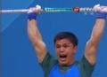 奥运视频-巴扎巴耶挺167kg成功 举重男子62kg级