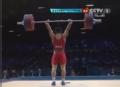 奥运视频-金云昆挺举170kg成功 举重男子62kg级