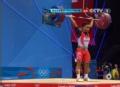 奥运视频-艾瑞万挺举172kg成功 举重男子62kg级