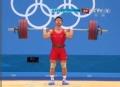 奥运视频-金云昆神勇挺举174kg成功 破世界纪录