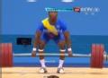奥运视频-菲戈罗亚挺177kg 成功举重男子62kg级