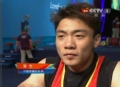 奥运视频-张杰赛后采访难掩悲痛 记者拥抱鼓励