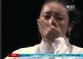 奥运视频-选手洒泪拒绝下台 因计时器停滞1秒钟