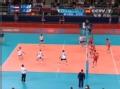 奥运视频-卡拉莫斯里近网暴扣 塞尔维亚防守失误