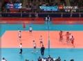 奥运视频-法耶德近网扣杀 波德拉斯卡宁拦网失误