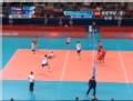 奥运视频-塞4号位3人拦网成功 塞尔维亚VS突尼斯