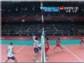 奥运视频-尼克拉扣杀挂网失分 塞尔维亚VS突尼斯