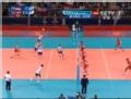 奥运视频-卡瓦切维奇网前扣杀 塞尔维亚VS突尼斯