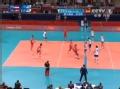 奥运视频-突尼斯飞身拦网成功 塞尔维亚VS突尼斯