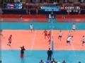 奥运视频-卡瓦切维奇后仰暴扣失误 突尼斯得分