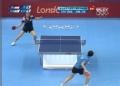 奥运视频-冯天薇横拉对手失分 女乒单打四强赛