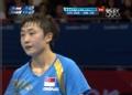 奥运视频-双方对拉冯天薇得分 女乒单打四强赛