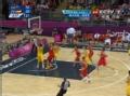 奥运视频-安德森突破上篮球进 澳大利亚VS西班牙