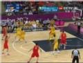 奥运视频-塞尔吉奥外线命中3分 澳大利亚VS西班牙