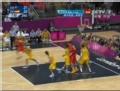 奥运视频-卡尔德隆带球突破上篮 澳大利亚VS西班牙