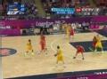 奥运视频-吉布森突破上篮球进 澳大利亚VS西班牙