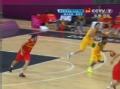 奥运视频-米尔斯进攻上篮得手 澳大利亚VS西班牙