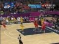 奥运视频-纽利快速反击上篮 澳大利亚VS西班牙