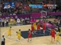 奥运视频-纽利突破上篮球进 澳大利亚VS西班牙