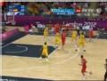 奥运视频-加索尔再投3分命中篮筐 澳大利亚VS西班牙