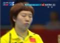 奥运视频-李晓霞正手侧拉得分 女乒单打四强赛