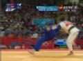 奥运视频-徐丽丽向后拖拉拽倒对手 被判无效分