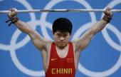 奥运图:男举69kg林清峰夺冠 志在必夺