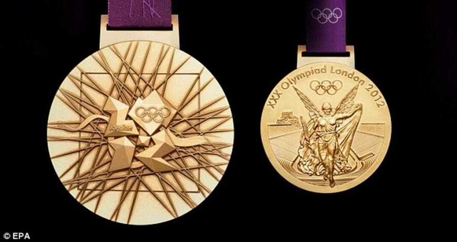 意义大于价值 伦敦奥运金牌含金1%(组图)