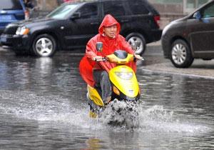 山西今年首次发布暴雨红色预警