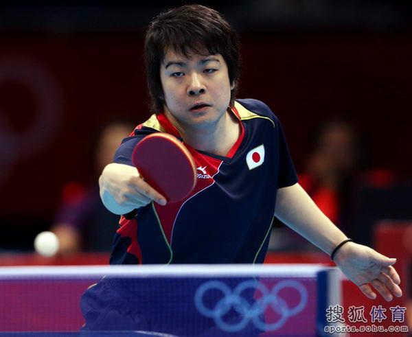 奥运图:王皓奋起挥拍零封强敌 岸川圣也反击