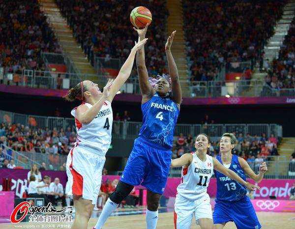 奥运图:法女篮提前出线 势如破竹