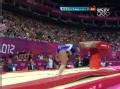 奥运视频-费拉里落地曲腿憾出界 女团体操决赛