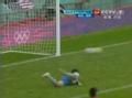 奥运视频-摩根漂亮停球过人 禁区外低射中立柱