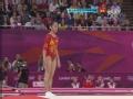 奥运视频-邓琳琳超强连续后空翻 女团体操决赛