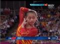 奥运视频-眭禄自由操后屈2周落地 女团体操决赛