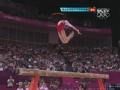 奥运视频-科莫娃柔韧性惊人 空中脚底板触后脑