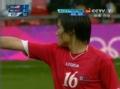奥运视频-金成基背后铲球领牌 女足美国VS朝鲜