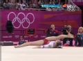 奥运视频-俄罗斯空中卷腿稍瑕疵 女团体操决赛