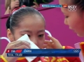 奥运视频-体操女团无缘奖牌 奥运健儿泪眼充盈