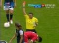 奥运视频-崔美京侧向恶意铲球 连拿两黄罚下场