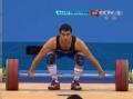 奥运视频-米佐扬连举148kg成功 举重男子69kg级