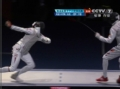 奥运视频-雷声后退中点刺命中 暂时4-2领先对手
