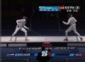 奥运视频-雷声近身闪电刺击 高举双手怒吼助威