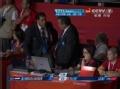 奥运视频-雷声莫名领红牌被罚 王海滨怒起争辩