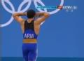 奥运视频-米佐扬挺举177kg失败 举重男子69kg级