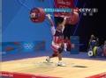 奥运视频-特瑞亚特恩181kg成功 举重男子69kg级