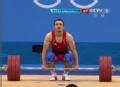 奥运视频-碧娜挺举180kg未成功 举重男子69kg级